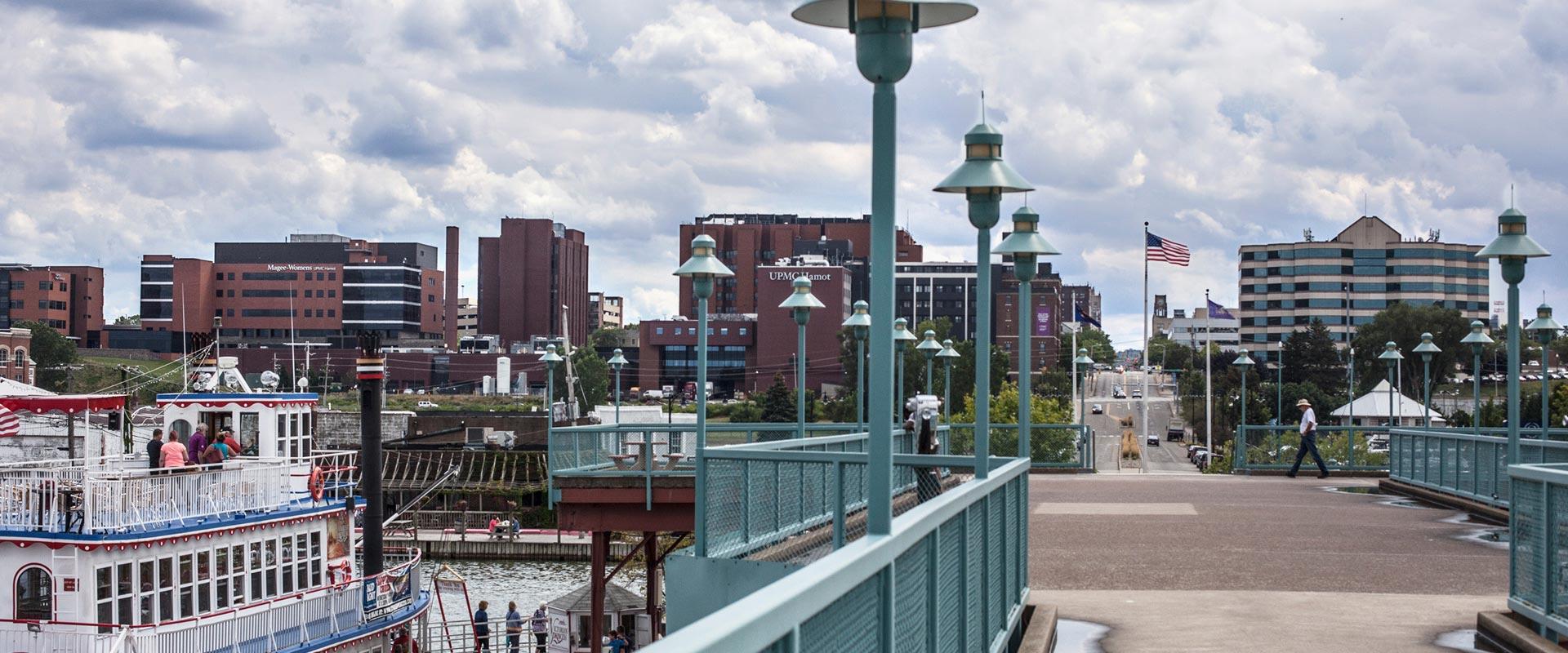 Bayfront-Erie-PA-skyline